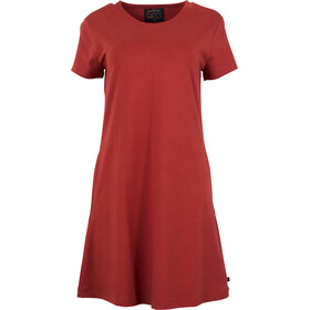 United By Blue Ridley Swing Vestido Mujer, red rock